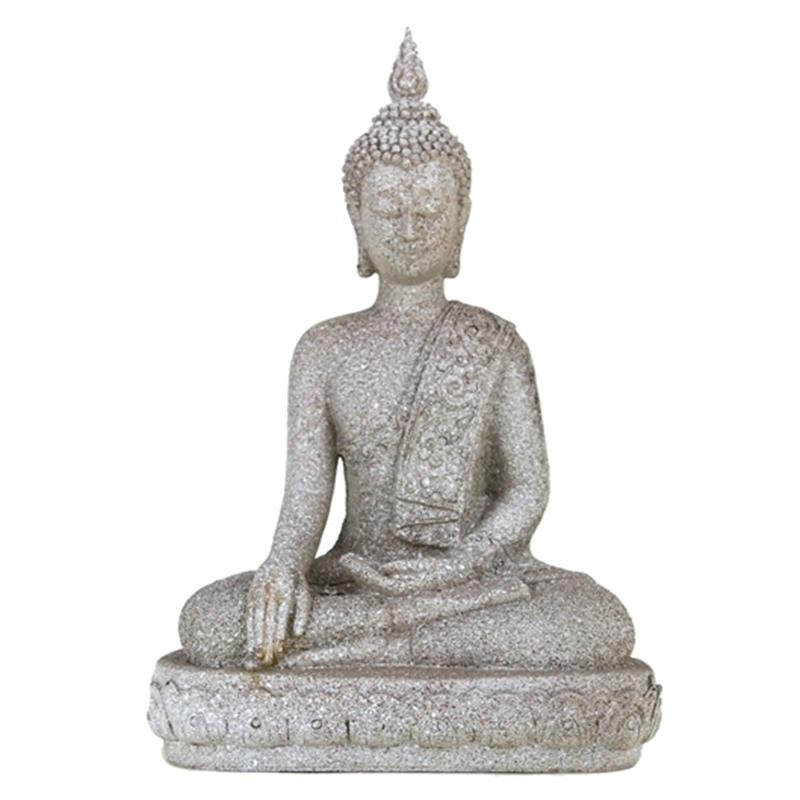 SCHÖNE SARASVATI STATUE 11 CM HOCH HIMALAYA BUDDHA  YOGA MEDITATION