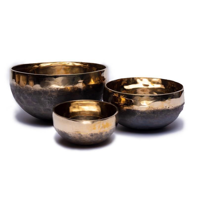 Tibetské mísy Ishana černo-zlaté