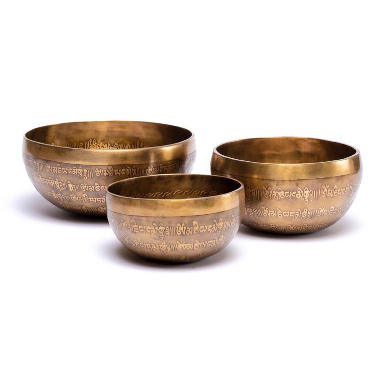 Tibetské zdobené misky 2